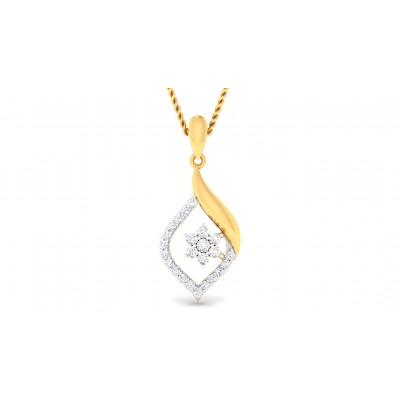 RAHELA DIAMOND FASHION PENDANT in 18K Gold