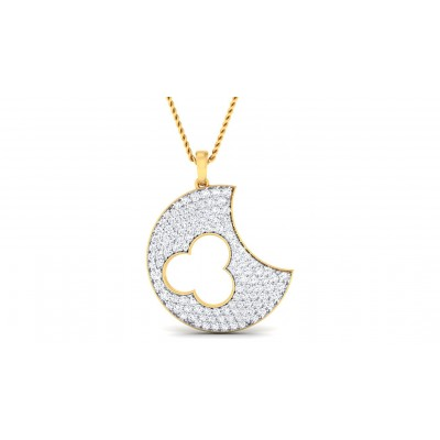 REGAN DIAMOND FASHION PENDANT in 18K Gold