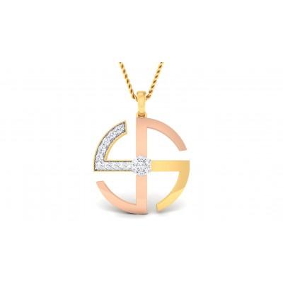VAMIL DIAMOND RELIGIOUS PENDANT in 18K Gold