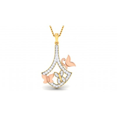 SHIULI DIAMOND FASHION PENDANT in 18K Gold
