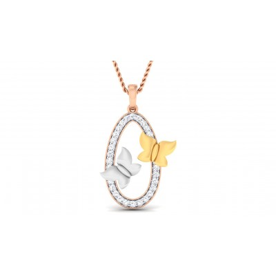ANJANA DIAMOND FASHION PENDANT in 18K Gold