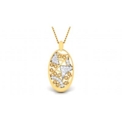 APEKSHA DIAMOND FASHION PENDANT in 18K Gold