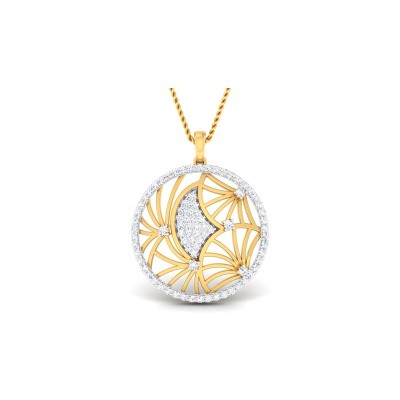 ARLET DIAMOND FASHION PENDANT in 18K Gold