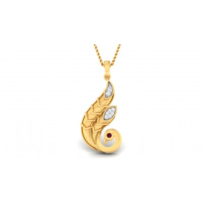 MARIANA DIAMOND FASHION PENDANT in 18K Gold