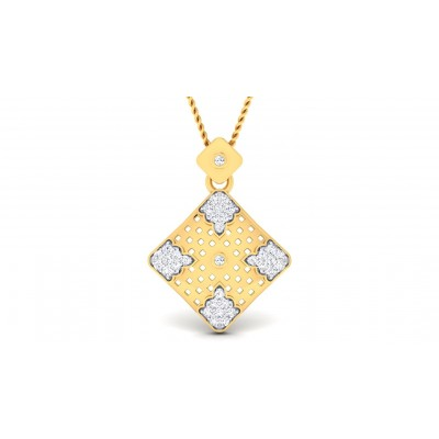 UMIKA DIAMOND FASHION PENDANT in 18K Gold