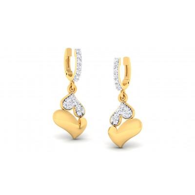 ZAINA DIAMOND DROPS EARRINGS in 18K Gold