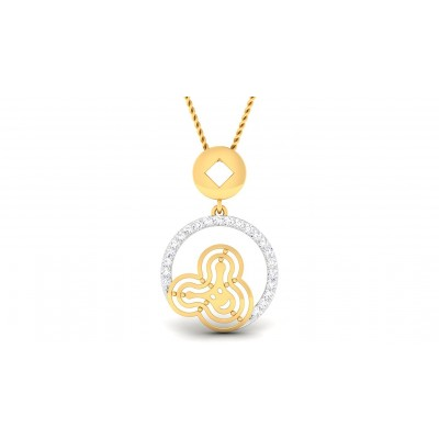 TRIYA DIAMOND FASHION PENDANT in 18K Gold