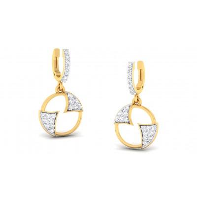 AGRIMA DIAMOND DROPS EARRINGS in 18K Gold