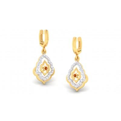 VANMAYI DIAMOND DROPS EARRINGS in 18K Gold