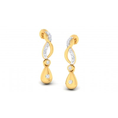 RATI DIAMOND DROPS EARRINGS in 18K Gold