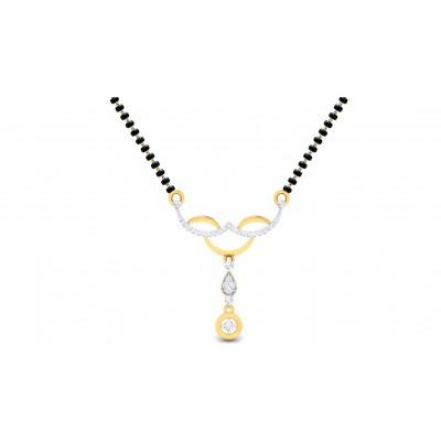 LAVANYA DIAMOND TANMANIYA PENDANT in 18K Gold