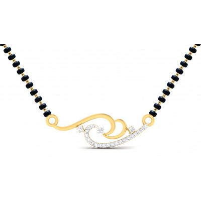 SONIKA DIAMOND TANMANIYA PENDANT in 18K Gold