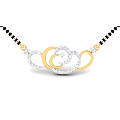 ANULATA DIAMOND TANMANIYA PENDANT in 18K Gold