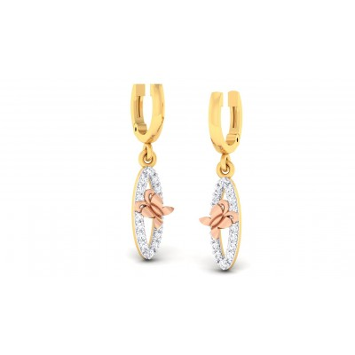 TARANA DIAMOND DROPS EARRINGS in 18K Gold