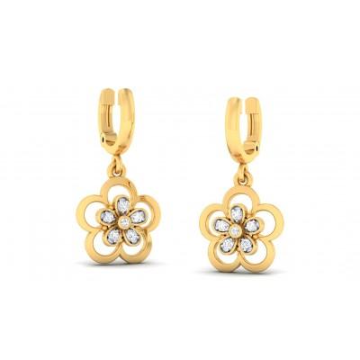 URMI DIAMOND DROPS EARRINGS in 18K Gold
