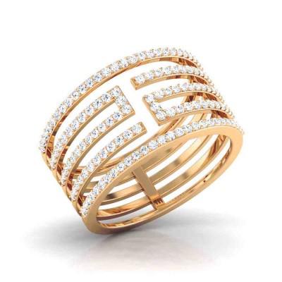 SURAMA DIAMOND COCKTAIL RING in 18K Gold