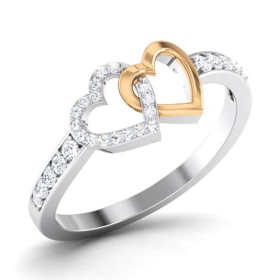 GAURIKA DIAMOND CASUAL RING in 18K Gold
