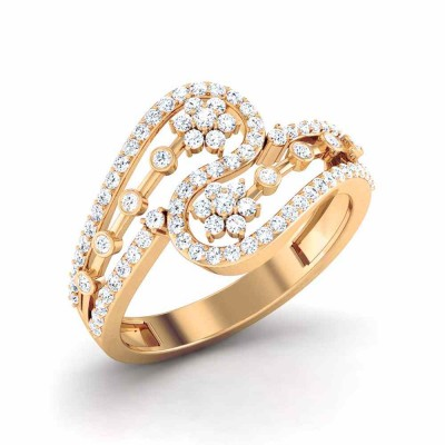 VANANI DIAMOND CASUAL RING in 18K Gold