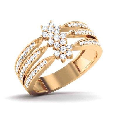 MASUM DIAMOND CASUAL RING in 18K Gold