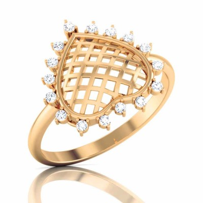 KATELYN DIAMOND CASUAL RING in 18K Gold