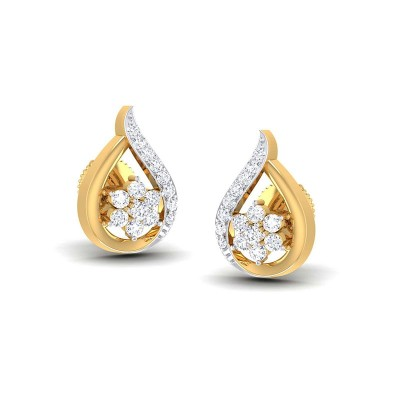 LIPIKA DIAMOND STUDS EARRINGS in 18K Gold