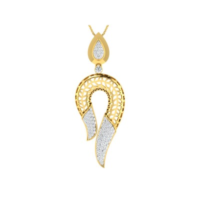 ALEIDA DIAMOND FASHION PENDANT in 18K Gold