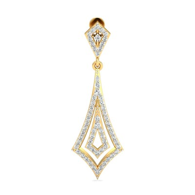BILLI DIAMOND DROPS EARRINGS in 18K Gold