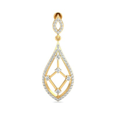 LAREE DIAMOND DROPS EARRINGS in 18K Gold