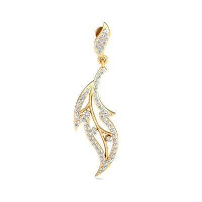 KARLA DIAMOND DROPS EARRINGS in 18K Gold
