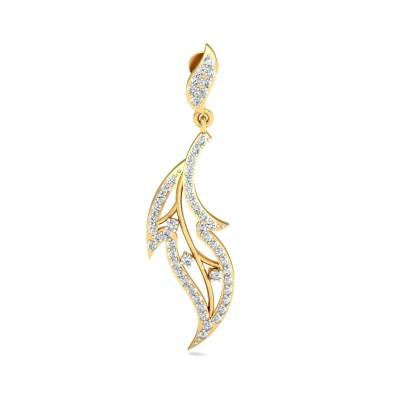 KARLA DIAMOND DROPS EARRINGS in 18K Gold