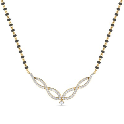 LAURAN DIAMOND TANMANIYA PENDANT in 18K Gold
