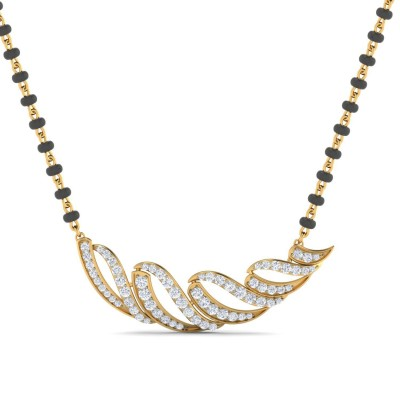 NIKKI DIAMOND TANMANIYA PENDANT in 18K Gold