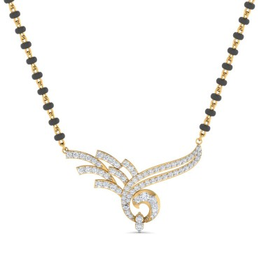 REMA DIAMOND TANMANIYA PENDANT in 18K Gold