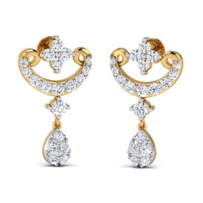 SEASON DIAMOND DROPS EARRINGS in 18K Gold
