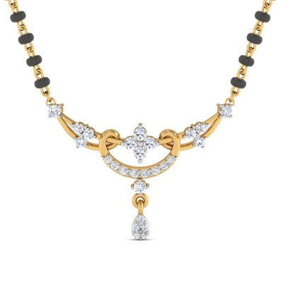 LASHELL DIAMOND TANMANIYA PENDANT in 18K Gold
