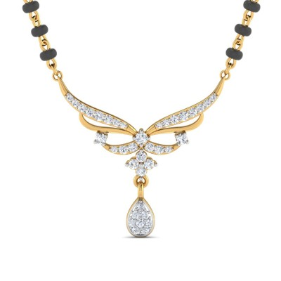 KIANA DIAMOND TANMANIYA PENDANT in 18K Gold