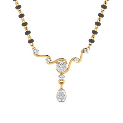 LUVENIA DIAMOND TANMANIYA PENDANT in 18K Gold