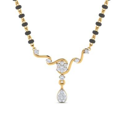 LUVENIA DIAMOND TANMANIYA PENDANT in 18K Gold