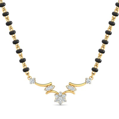YESENIA DIAMOND TANMANIYA PENDANT in 18K Gold