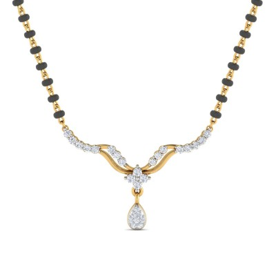 CHRISTEEN DIAMOND TANMANIYA PENDANT in 18K Gold