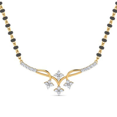 ANGIE DIAMOND TANMANIYA PENDANT in 18K Gold