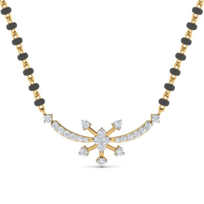 ROSALEE DIAMOND TANMANIYA PENDANT in 18K Gold