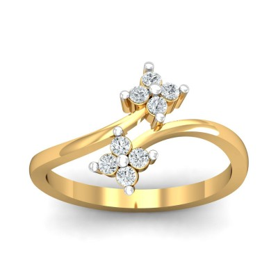 SHALON DIAMOND CASUAL RING in 18K Gold