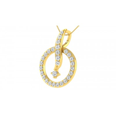 MARIANELA DIAMOND FASHION PENDANT in 18K Gold