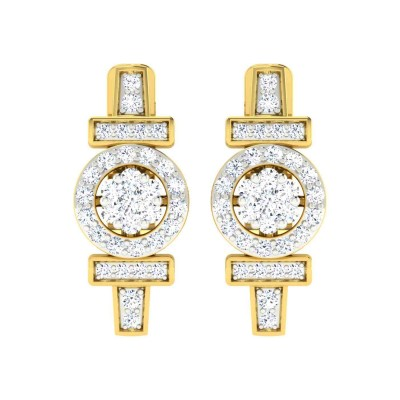 CHERRI DIAMOND DROPS EARRINGS in 18K Gold