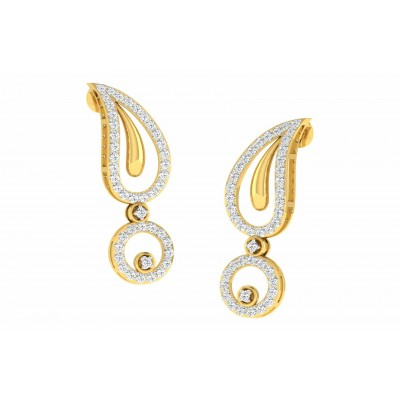 ALICE DIAMOND DROPS EARRINGS in 18K Gold