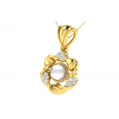 SIRENA DIAMOND FASHION PENDANT in 18K Gold