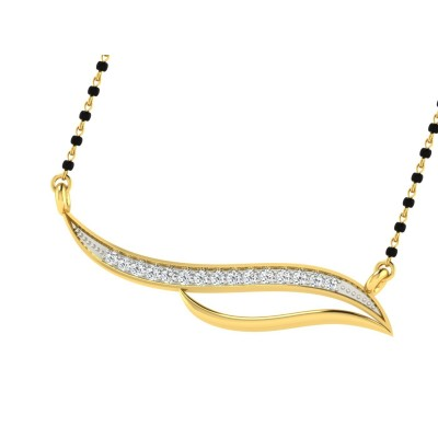 CECILY DIAMOND TANMANIYA PENDANT in 18K Gold