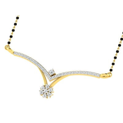 JANEAN DIAMOND TANMANIYA PENDANT in 18K Gold