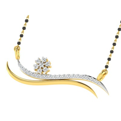 GEORGANN DIAMOND TANMANIYA PENDANT in 18K Gold